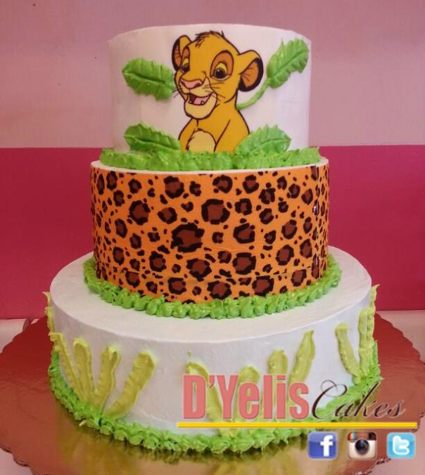SIMBA DOMINICAN CAKE